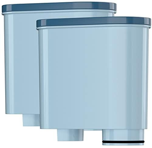 Wessper 2er Pack AquaClear Wasserfilter für Saeco und Philips Kaffeevollautomat AquaClean CA6903 Kalk Filter