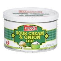 Herr's Sour Cream Onion Dip oz 3 8.5 Complete Free Shipping of pack NEW before selling ☆