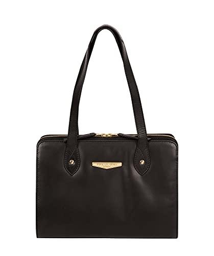 Pure Luxuries London Britt Women's 29cm Biodegradable Leather Handbag with...