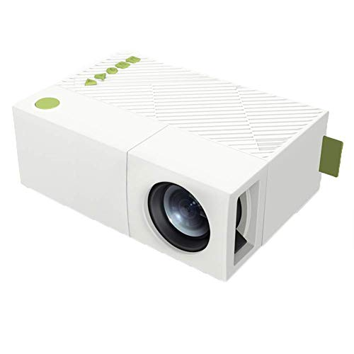 YG310 Home Led Mini Portable HD 1080P Projector Handset Handheld Projection, White
