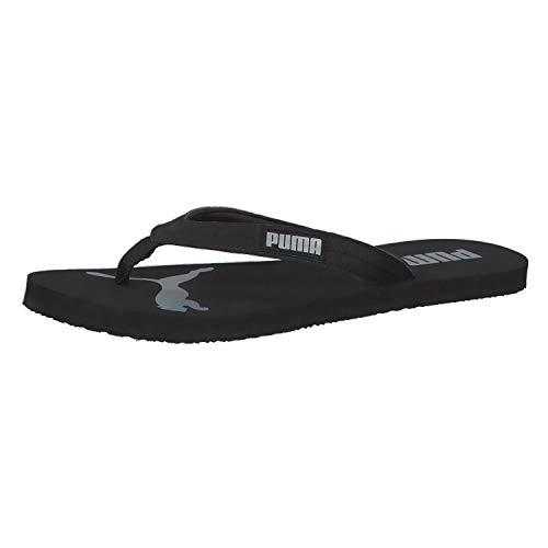 Puma Cozy Flip Wns Zapatos de playa y piscina Mujer, (Puma Black-Puma Silver 03), 37 EU (4 UK)