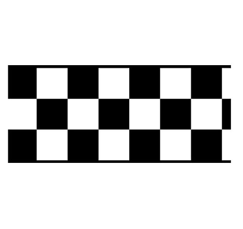 Checkered Flag Cars Wallpaper Border-4.5 Inch (Black Edge) by CheckeredWallpaperBorder.com