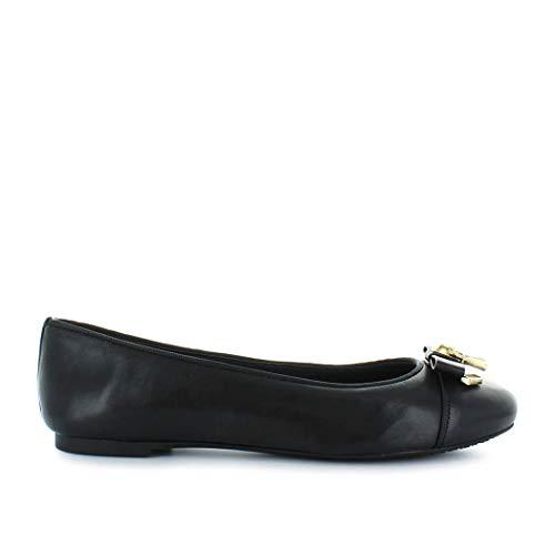 Michael Kors Luxury Fashion Femme 40T7ALFP2L001 Noir Cuir Ballerines   Saison Permanent