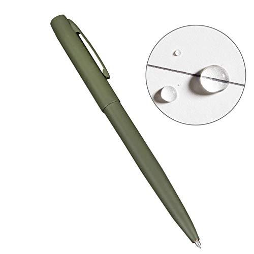 Rite in the Rain Weatherproof Olive Drab Green Clicker Pen - Black Ink (No. OD97)