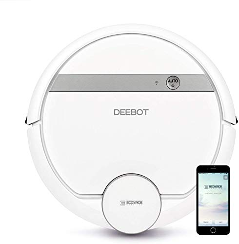 in budget affordable Ecovacs Deebot 907 Intelligent Robot Vacuum Cleaner, Carpet, Bare Floor, Animal Hair + Card Technology, High …