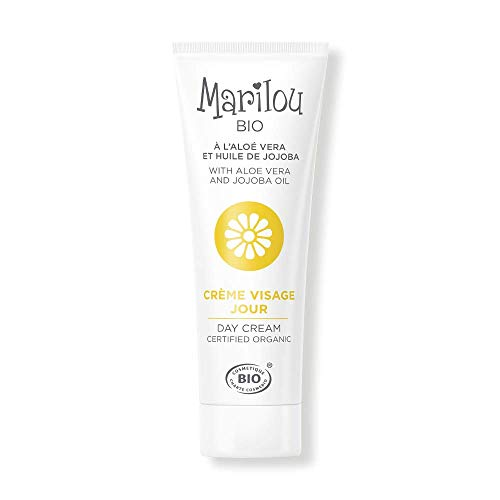 Marilou Bio - Gamme Classic - Soins pour le Visage - Crème Visage de Jour - Peau Normal - Tube de 30 ml - 1, 2, 3 : Hydratez !