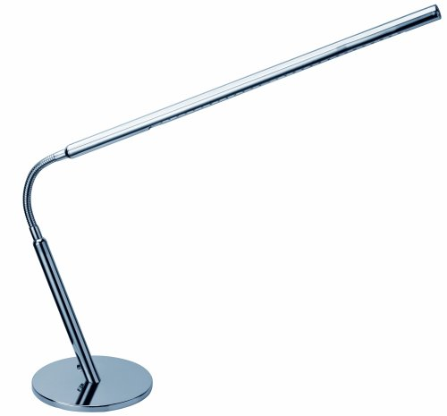 Preisvergleich Produktbild Alco Tischleuchte LED mit Standfuß,  9073,  verchromt