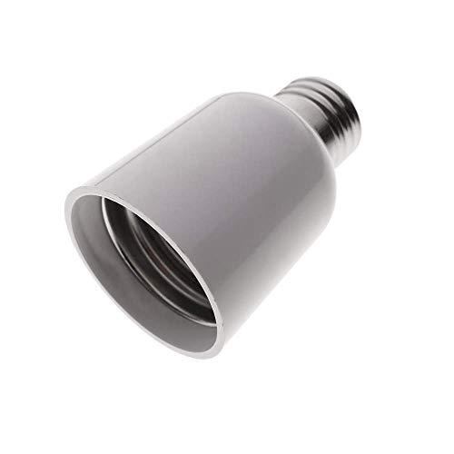 BeMatik - Adaptador rosca de bombilla E27 a E40