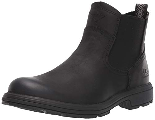 UGG Men's Biltmore Chelsea Boot, Black, 11 M US
