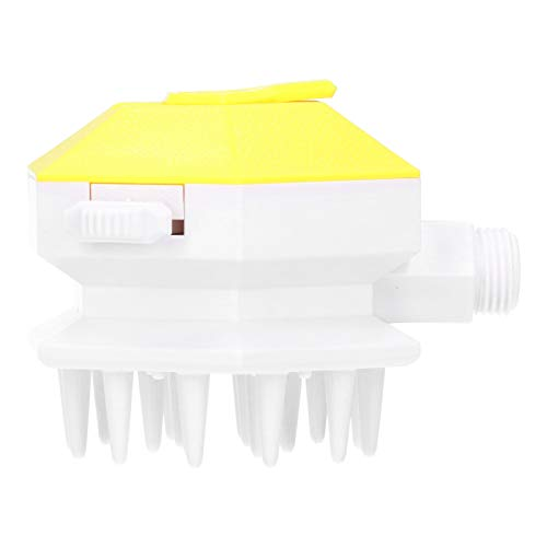 Pet Shower Sprayer, Dog Shower Sprayer Attachment Set Cleaning Brush Grooming Tool for Pet Bathing and Dog Cat Washing(yellow)