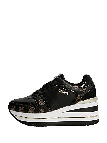 FL7HEEFAB12 BLKBR GUESS GUESS FOOTWEAR PRE Sneakers Donna 40