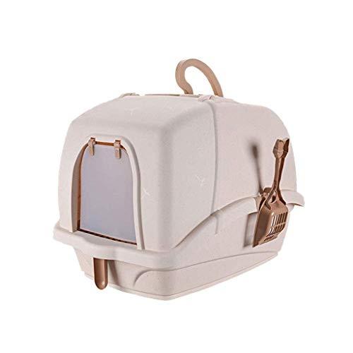 Qazxsw Chat Toilette/Bac Agrave; Litiegrave; re Chat-Grande Scatola per lettiera per Gatti con Apertura Rapida e Facile da Pulire: vaschetta per Toilette (Dimensioni: 58 * 44 * 42 cm)