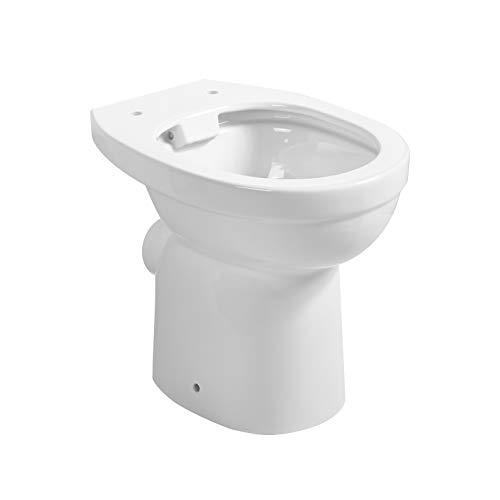 Primaster Stand-Hybrid-WC Epsilon Tiefspüler Flachspüler Kombination weiß