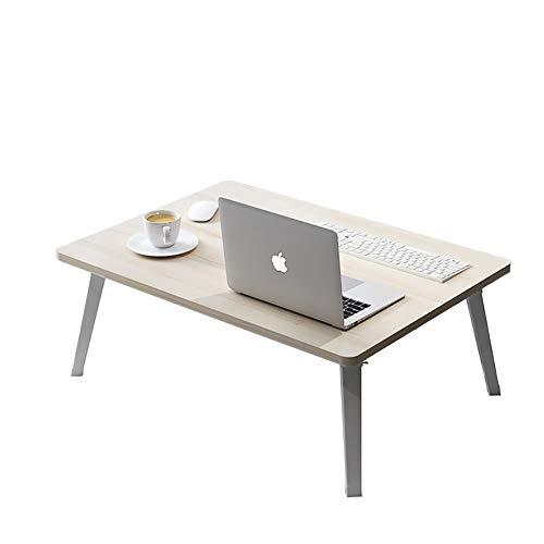 PQFT PortáTil Mesa Plegable Mesa para Laptop Mesa con Cubierta De Pie De PláStico FuncióN MúLtiple ErgonóMico Mesa Ordenador Portatil para Sofá Cama BalcóN Estudiar, Etc