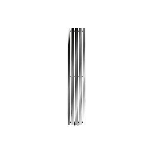 ECD Germany Radiador de Diseño Vertical Stella - 260 * 1400 mm - Cromado - Radiadores de diseño para baño Calentador de toallas