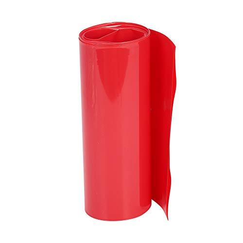 Othmro 熱収縮チューブ 収縮チューブ 絶縁チューブ 防水 シュリンクチューブ?収縮率2:1?急速収縮チューブ 高難燃性 耐久性 電線の端末処理 感電防止 収納ケース付き 赤