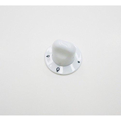Ariston–Botón placa Gas blanco para mesa de horno Ariston