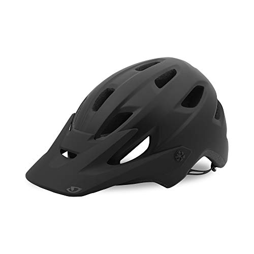 Giro Chronicle MIPS Adult Mountain Cycling Helmet - Large (59-63 cm), Matte Black/Gloss Black (2020)