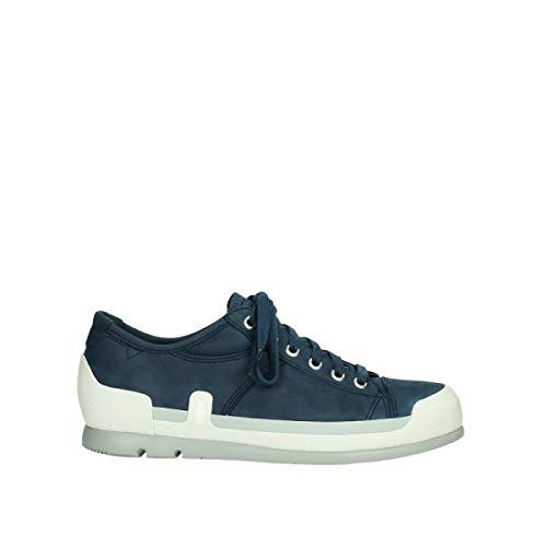 Wolky Comfort Sneakers Stowe - 13870 blau-Sommer Nubuk - 38