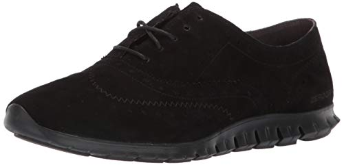 Cole Haan womens Zerogrand Wing Closed Hole Ii Oxford, Black, 6 US