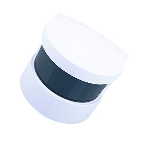 Vokmon Limpiador acústico de la joyería portátil Limpiador de la joyería Adornos Pendientes del Collar de la dentadura Limpia Sonora vibración de la máquina de Limpieza
