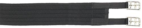 Busse Sattelgurt Textil-Long, 80 cm, schwarz