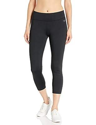 Calvin Klein Women's Ombre Dip Dye Stripe Crop Legging Pant (Regular and Plus Sizes), Black, 3X