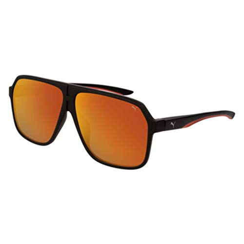 Puma gafas de sol PU0194S 005 negro, rojo tamaño de 61 mm de hombre