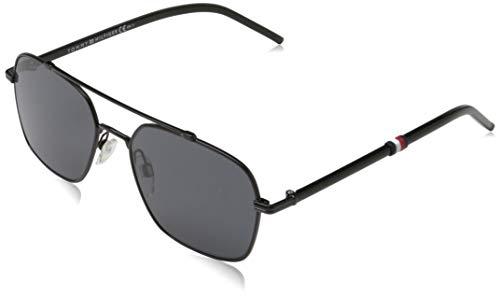 Tommy Hilfiger TH 1671/S Sunglasses, Black, 55 Mens