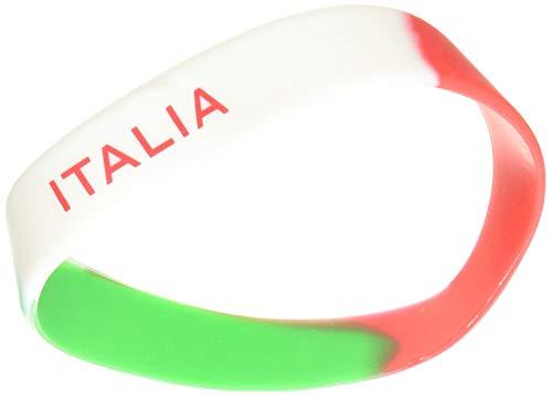 Supportershop Armband, Silikon, Italien, Unisex, Erwachsene, Mehrfarbig, Einheitsgröße