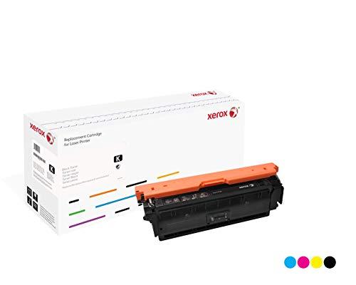 Xerox 006R03008 XRC-Tonerpatrone (Entspricht HP CE400X) für Colour LaserJet M551DN Series/M575 schwarz