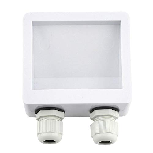 anyilon Solar Photovoltaic Abs Plastic Bracket Junction Box Cable Entry Gland Box Solar Panel Motorhome Camper Roof