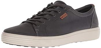 ECCO Men s Soft 7 Sneaker Titanium Oil Nuuck 10-10.5