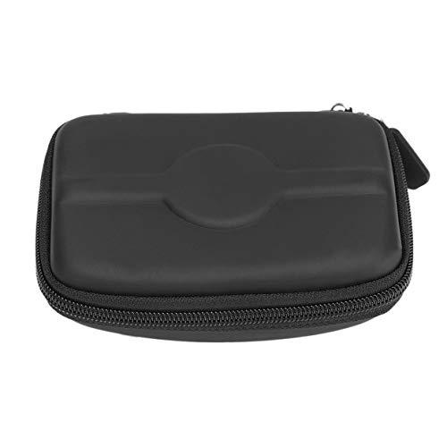 MXECO PU Hartschalenkoffer Abdeckung 4.3inch Auto-Navigations Halter für TomTomStart GPS Navigation Schutzpaket Abdeckung Tasche (Schwarz)