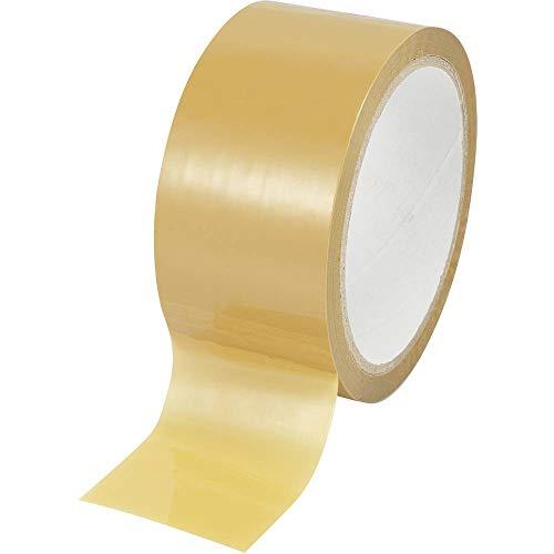Basetech Verpackungsband (B x T) 50 x 48 mm braun bi-Achsale Folie verlängert Polypropylen (BOPP) SH1998C35