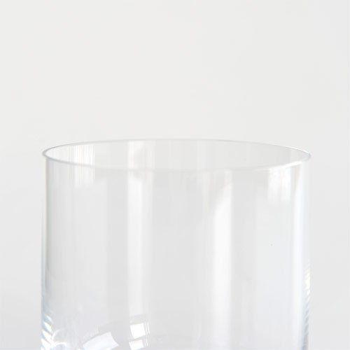 """Alessi""""All-Time"""" Water Tumblers in Crystalline Glass (Set of 4), Transparent"""