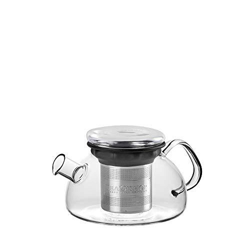 TEA SHOP - Tetera Cristal - All in One Teapot Black 0.8L - Tetera