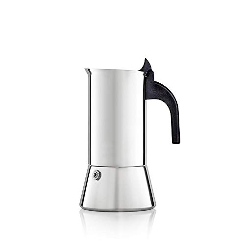 Read About ZHCSS Moka Espresso Maker Tool Stovetop Stainless Steel Home Kitchen Accessories Coffee P...