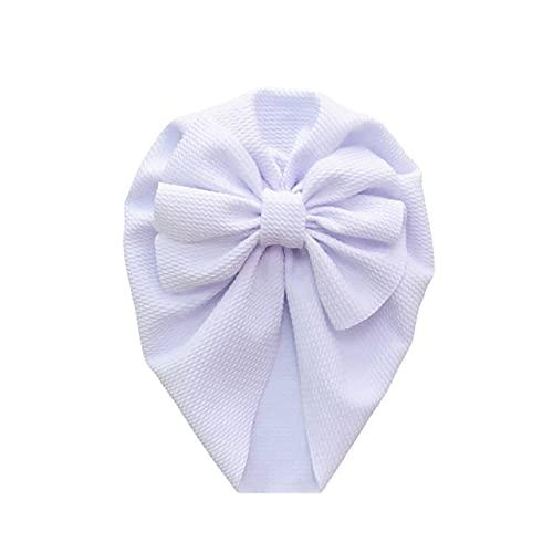 XLSM Sombrero de bebé turbante flor arco recién nacido niña sombrero gorro otoño e invierno niño niña sombrero