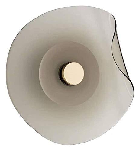YONGYONGCHONG Lámpara de pared creativa de cristal para casa, dormitorio, mesita de noche, salón, sofá, lámpara de pared, estilo moderno, estilo de iluminación