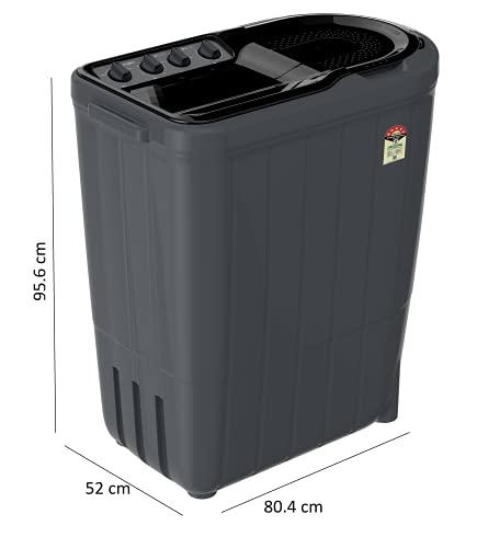 Whirlpool 7 Kg 5 Star Semi-Automatic Top Loading Washing Machine (SUPERB ATOM 7.0, Grey Dazzle, TurboScrub Technology) 2