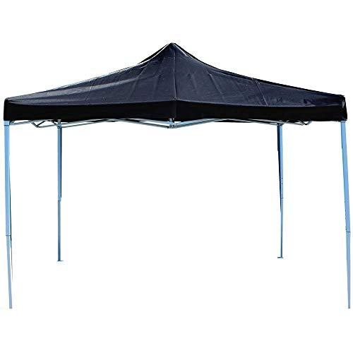 PrimeMatik - Gazebo pieghevole nero tenda 300x450cm