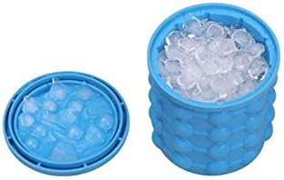 WJCCY Portable Silicone Ice Bucket Space-saving Las Vegas Mall Limited time cheap sale Circular Bu