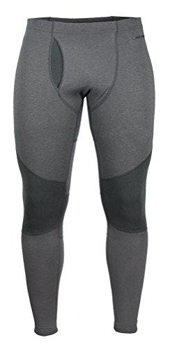 Hot Chillys Pantalon Fonctionnel en Laine mérinos pour Homme Noir Noir Taille XL Large Noir - Noir