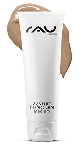 RAU BB Cream Perfect Care Medium 75 ml - Getönte Tagescreme mit Zink, Vitamin E - Make Up Abdeckung + Pflege + UV-Schutz