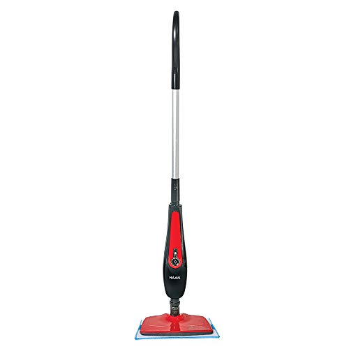 HAAN SI45 SlimPro Steam Mop With Two Pads, Red, Refurbished