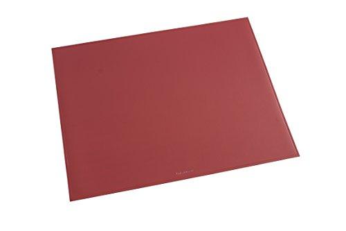 Läufer 40534 Durella Schreibtischunterlage, 40x53 cm, rot, rutschfeste Schreibunterlage für hohen Schreibkomfort