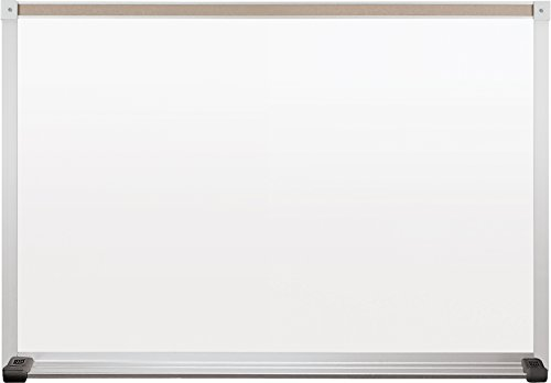 Best Rite Deluxe Magne Rite Dry Erase Whiteboard, Alum Trim, 2x 3Feet...