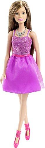 Mattel Barbie Glitzer Kleid lila