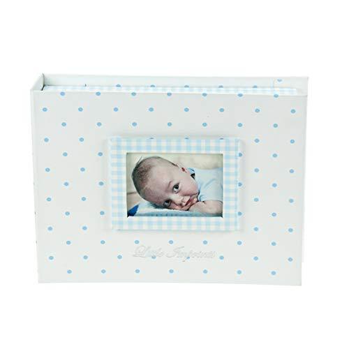 Mousehouse Gifts Caja de Recuerdos para bebés Color Azul Pastel con Set de Modelado e...